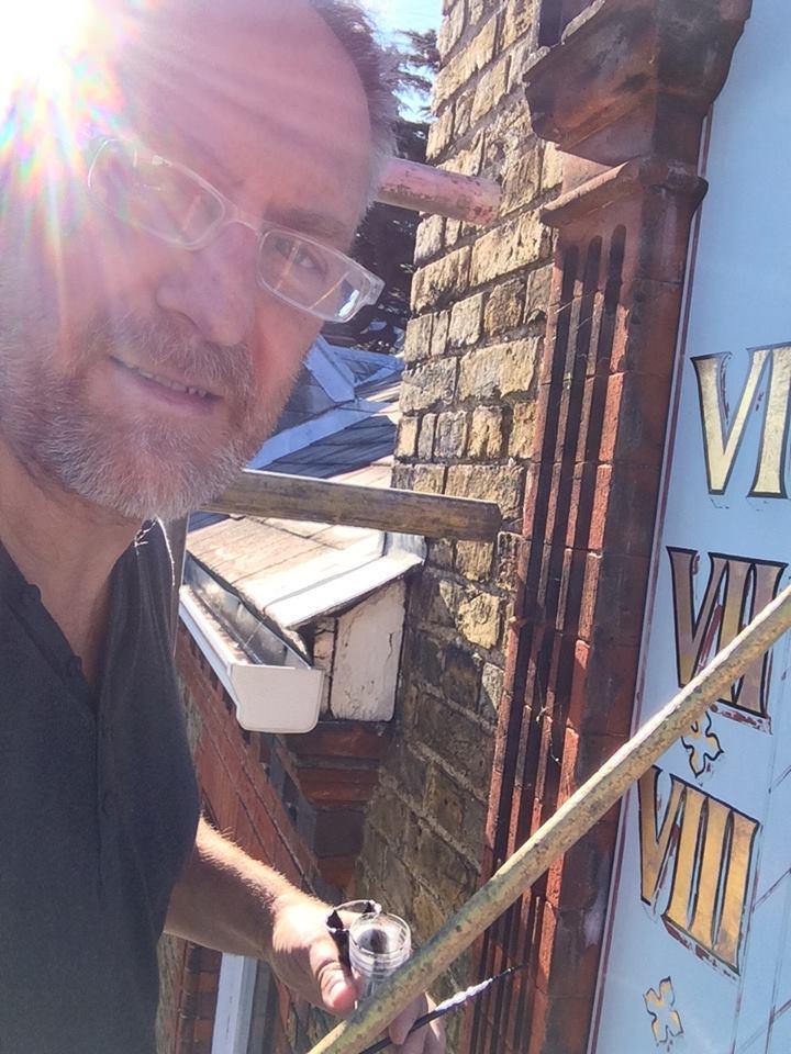 Nick Garrett signwriter London
