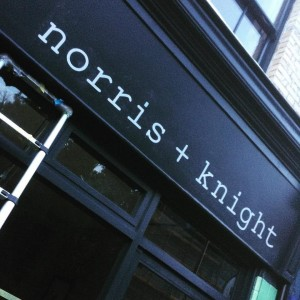 Norris Knight cool cafe 118 Forest Hill Rd - NGS signwriting
