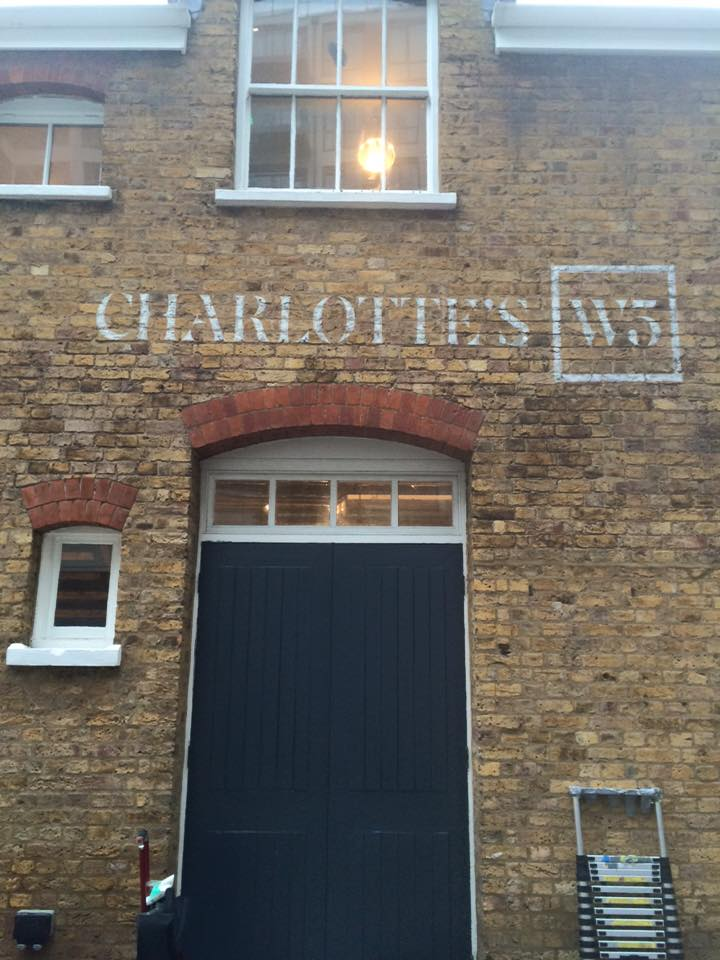 charlottes W5 NGS signs London