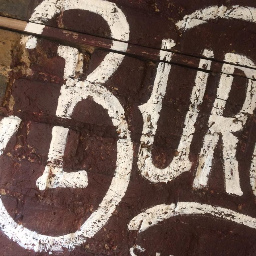 signwriting book signpainting book urban distressed NGS London ghost sign lettering