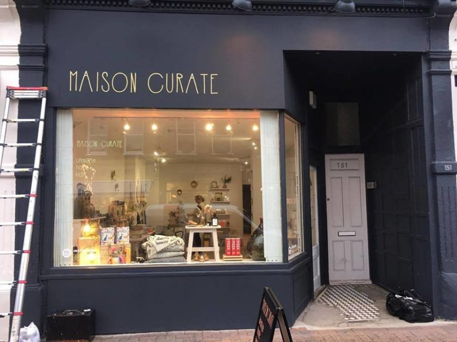 Maison Curate by NGS London signs