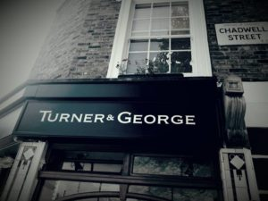 Turner and George Chiselled gold NGS