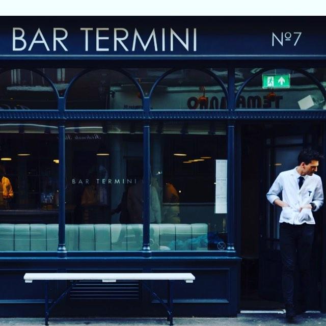 Bar Termini NGS signwriting London